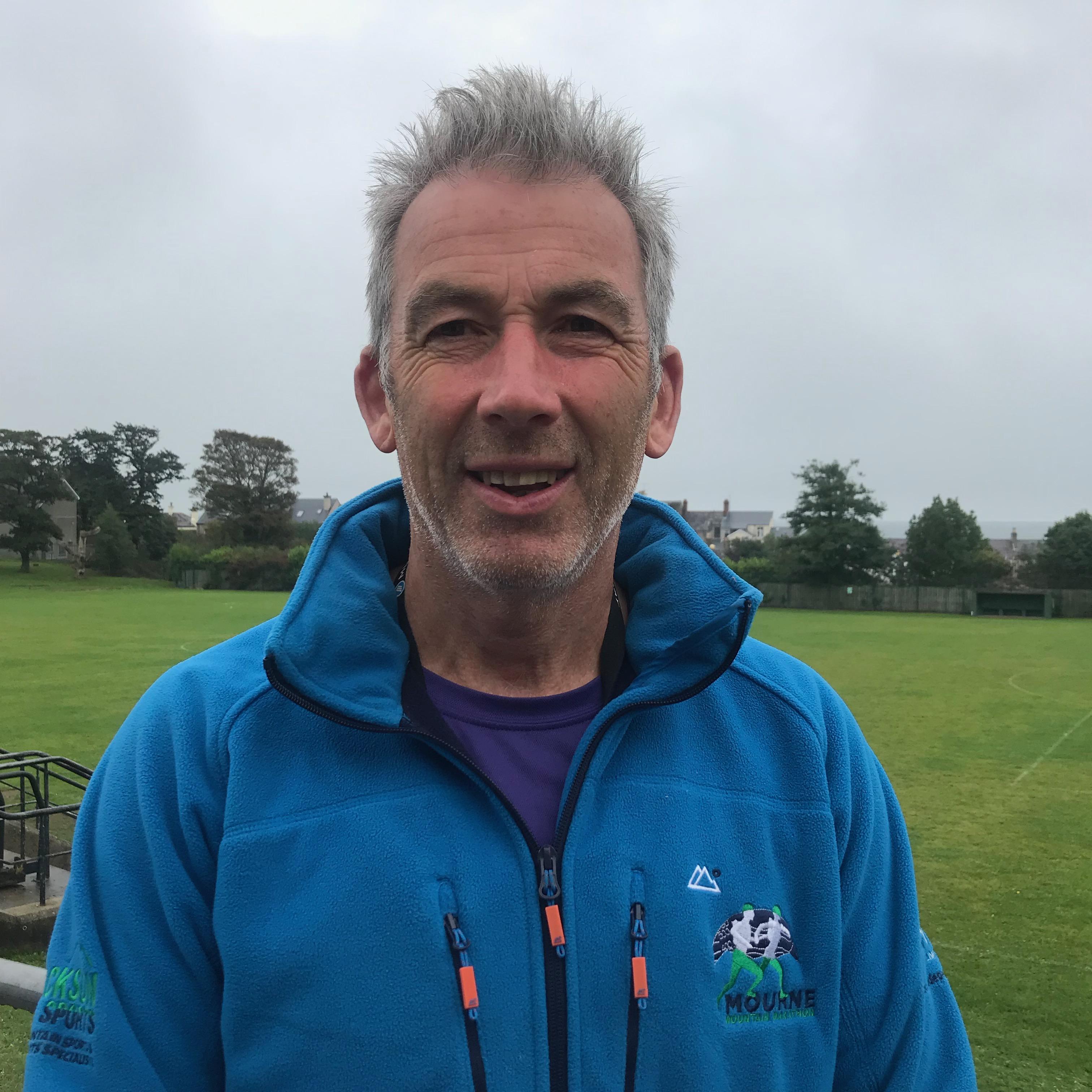 Gareth McKeown Course Controller, Publicity & Sponsorship Manager