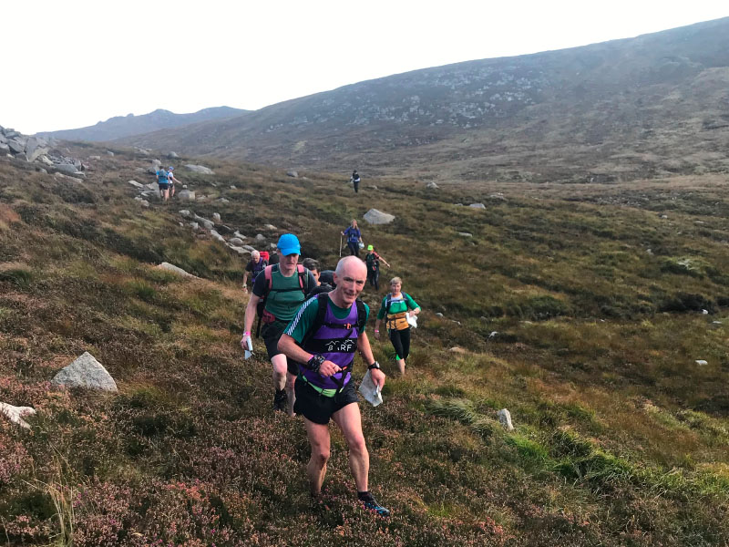 Runners in the Mournes