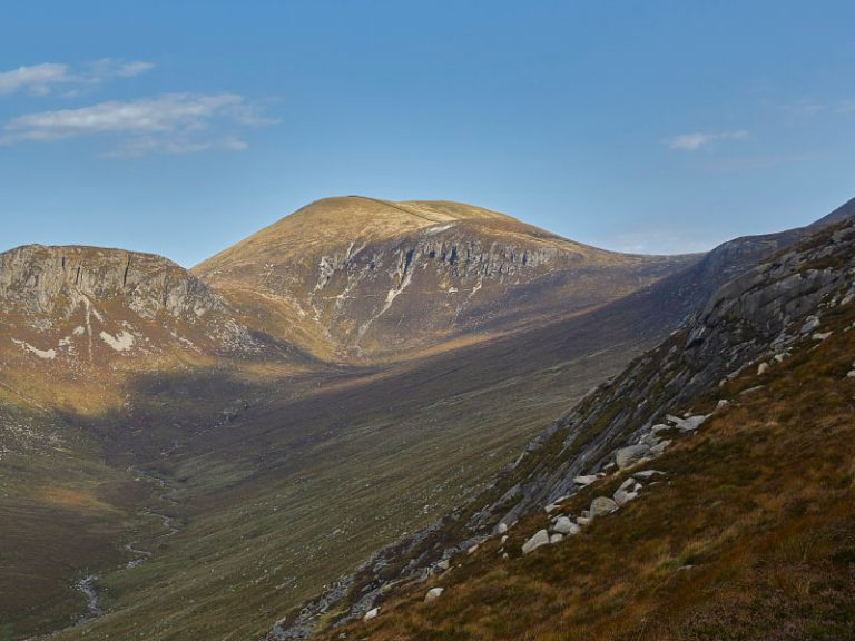 View of Mourne Mountains